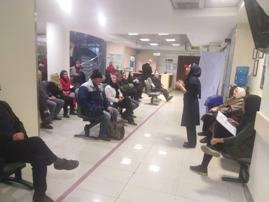 اقدامات انجام شده در بیمارستان نگاه جهت مقابله با کرونا